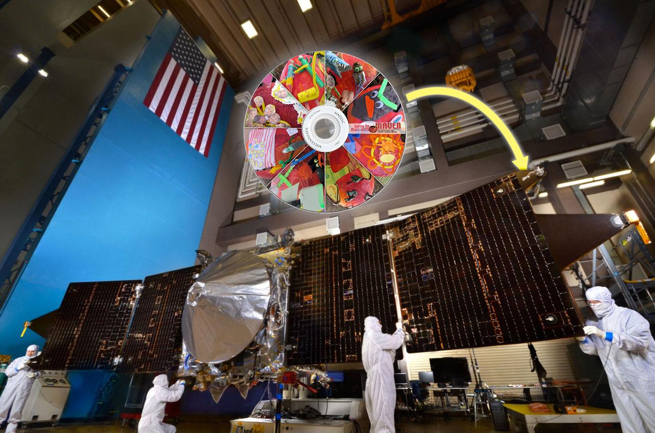 MAVEN Haiku Selected – NASA's Mars Exploration Program
