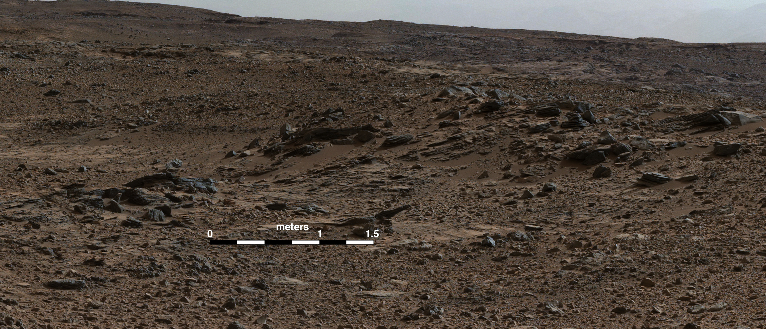 Multiple Episodes Of Delta Growth In Gale Crater Nasa S
