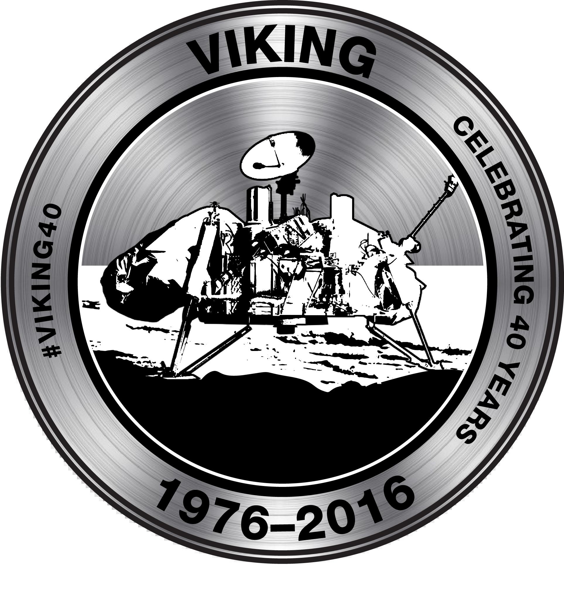 Viking 40 Year Anniversary Artwork Medal Nasas Mars Exploration