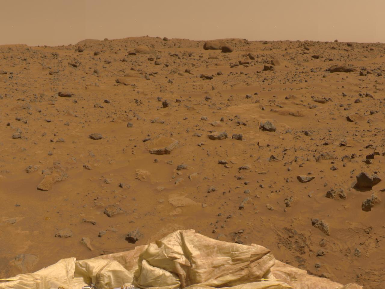 Northeast View in 360-degree Panorama – NASA's Mars