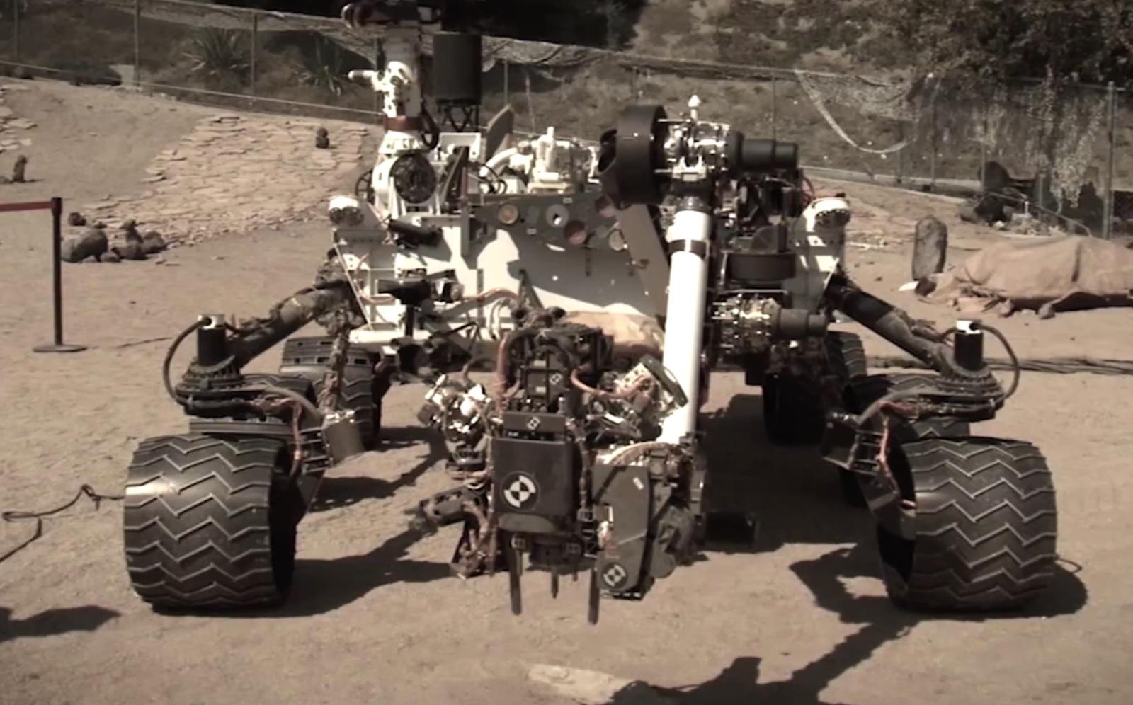 mars rover landing technique - photo #40