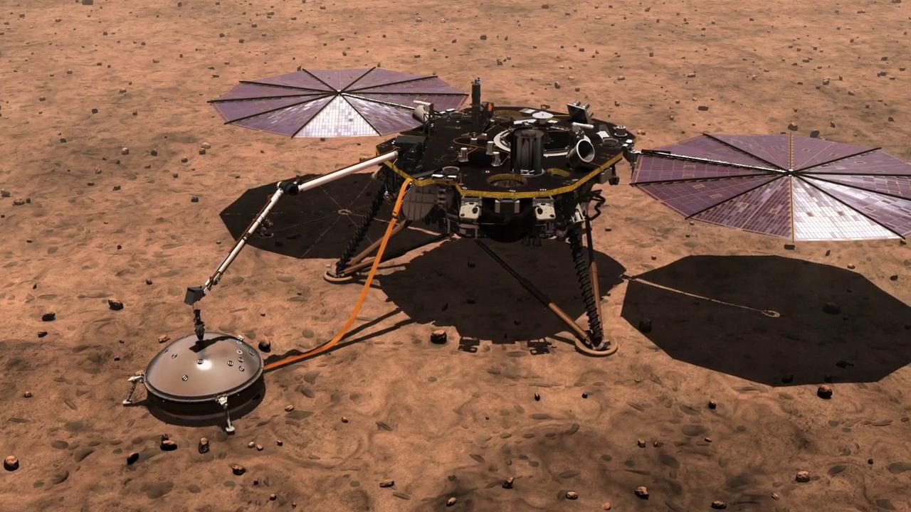 slide 1 - Mars InSight