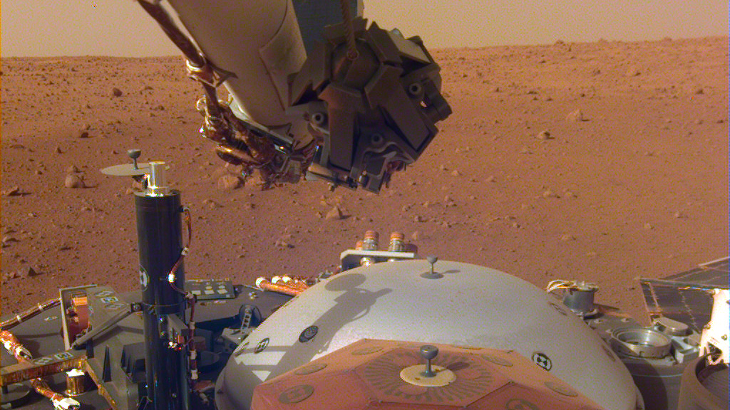 Image result for NSA insight lander