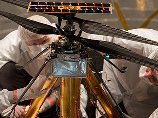 read the article 'NASA's Mars Helicopter Completes Flight Tests'
