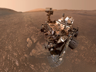 read the article 'NASA's Curiosity Mars Rover Finds a Clay Cache'