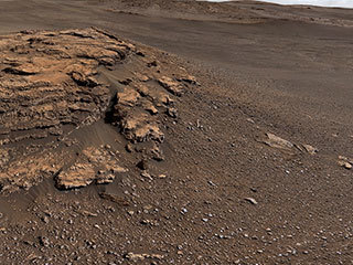 read the article 'New Finds for Mars Rover, Seven Years After Landing'