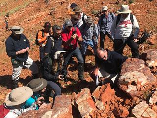 read the article 'Mars Scientists Investigate Ancient Life in Australia'