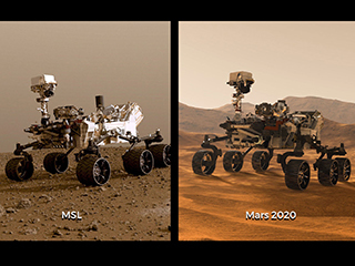 read the article 'Two Rovers to Roll on Mars Again: Curiosity and Mars 2020'