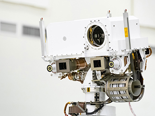 read the article 'All About the Laser (and Microphone) Atop Mars 2020, NASA's Next Rover'