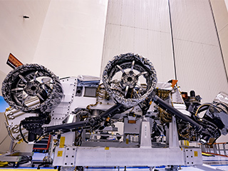 read the article 'NASA's Perseverance Mars Rover Gets Its Wheels and Air Brakes'