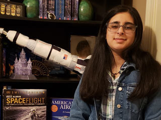 read the article 'Q&A with the Student Who Named Ingenuity, NASA's Mars Helicopter'
