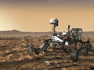 read the article 'The Detective Aboard NASA's Perseverance Rover'