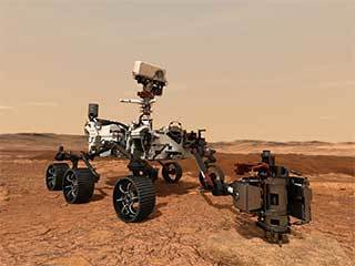 read the article 'A New Video Captures the Science of NASA's Perseverance Mars Rover'
