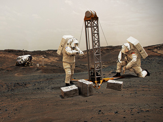 read the article 'NASA's Perseverance Rover Will Carry First Spacesuit Materials to Mars'