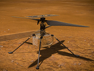 Video illustrating Mars Helicopter's mission
