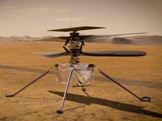read the article 'NASA's Mars Helicopter Reports In'