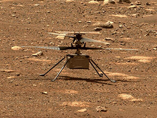 read the article 'NEWS | NASA's Mars Helicopter to Make First Flight Attempt Sunday'