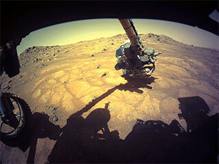 read the article 'Signs of Life on Mars? NASA's Perseverance Rover Begins the Hunt'