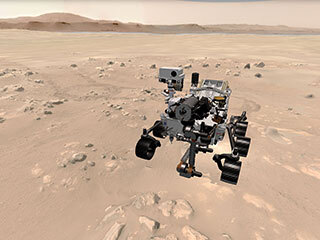 read the article 'NEWS | Take a 3D Spin on Mars and Track NASA's Perseverance Rover'