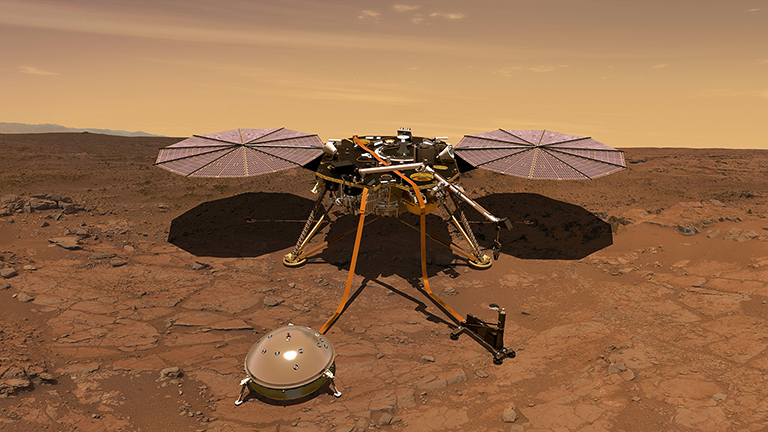 NASA's next mission to Mars will be the topic of a media briefing Thursday, March 29, at JPL. The briefing will air live on NASA Television and the agency's website.