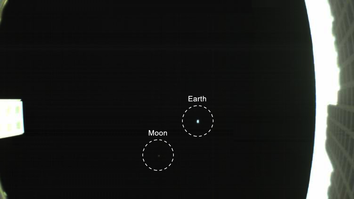 NASA's Voyager 1 took a classic portrait of Earth from several billion miles away in 1990. Now a class of tiny, boxy spacecraft, known as CubeSats, have just taken their own version of a