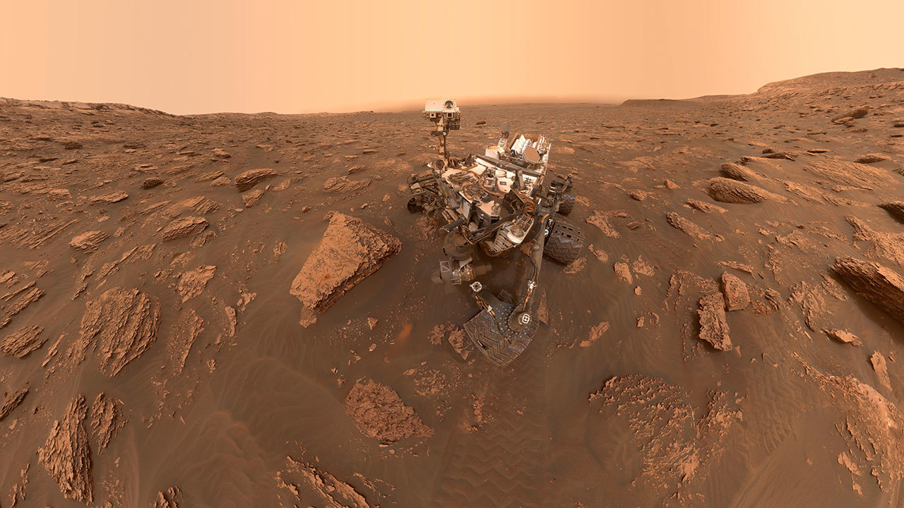 Curiosity on the Move Again – NASA's Mars Exploration Program
