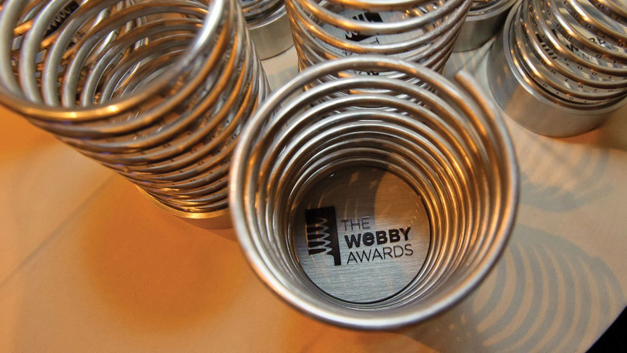 Numerous Webby and People's Voice awards have honored NASA digital and social media efforts since 1998.Credit: NASA