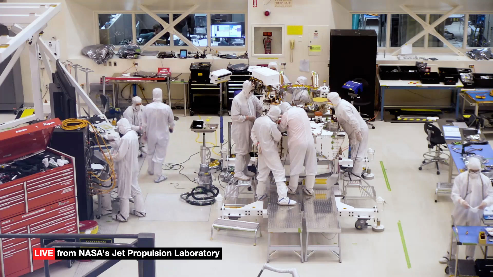 Read article: Watch NASA Build Its Next Mars Rover