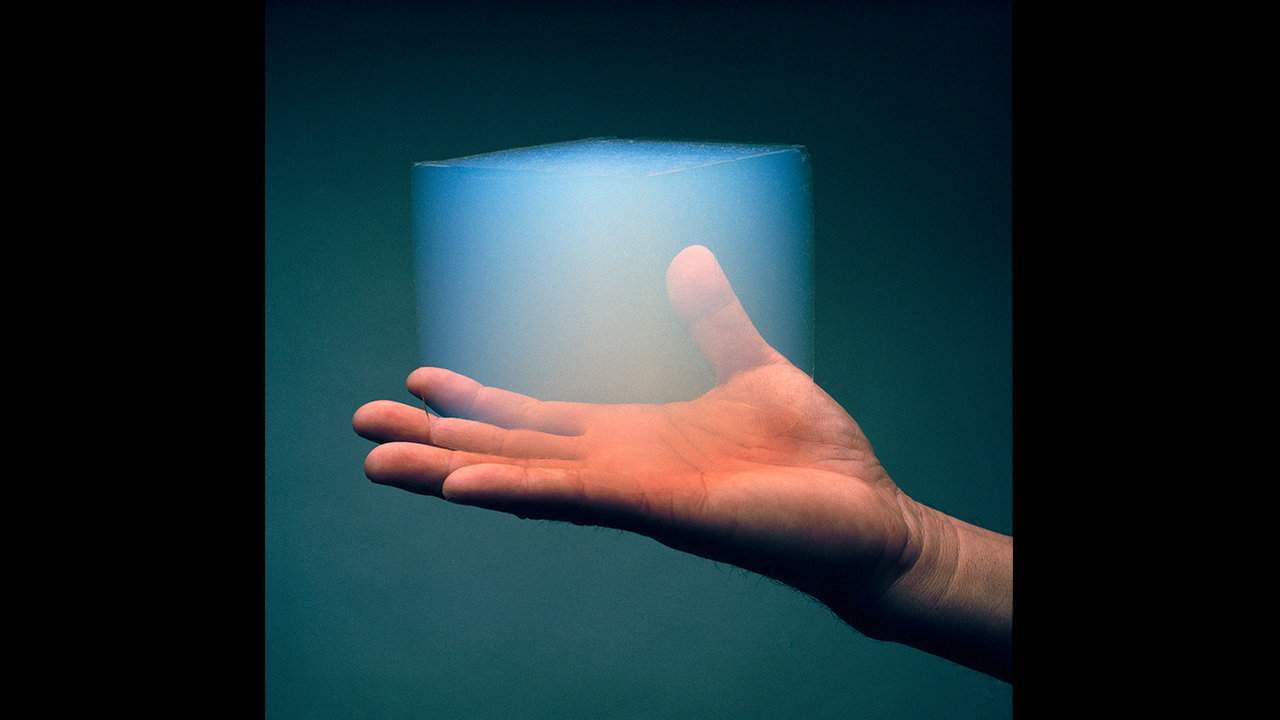 Scientists are exploring how aerogel, a translucent, Styrofoam-like material, could be used as a building material on Mars.