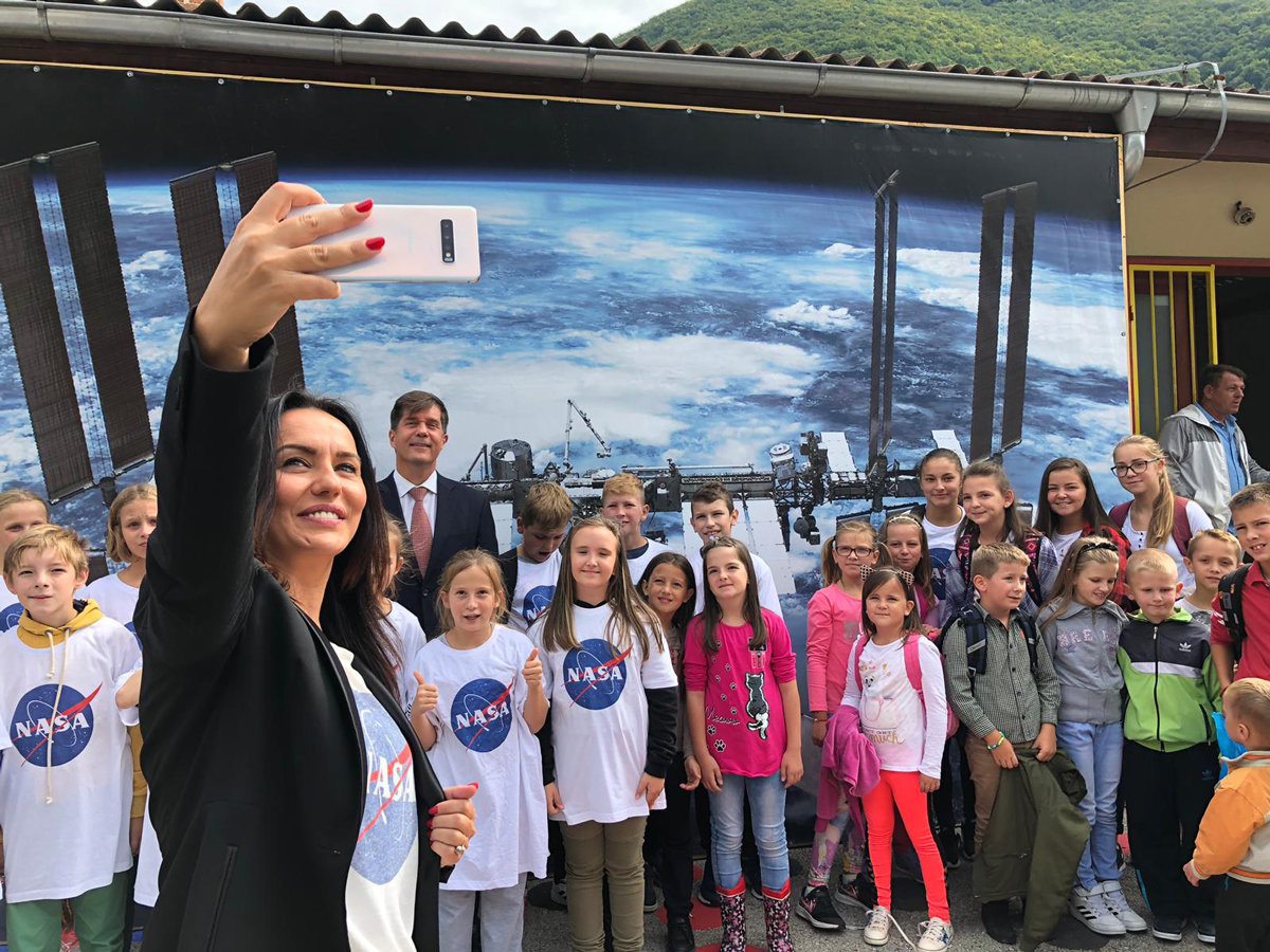Read article: NASA Mars Mission Connects With Bosnian and Herzegovinian Town