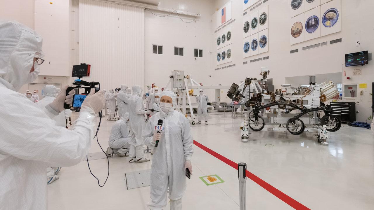 Read article: Media Get a Close-Up of NASA's Mars 2020 Rover