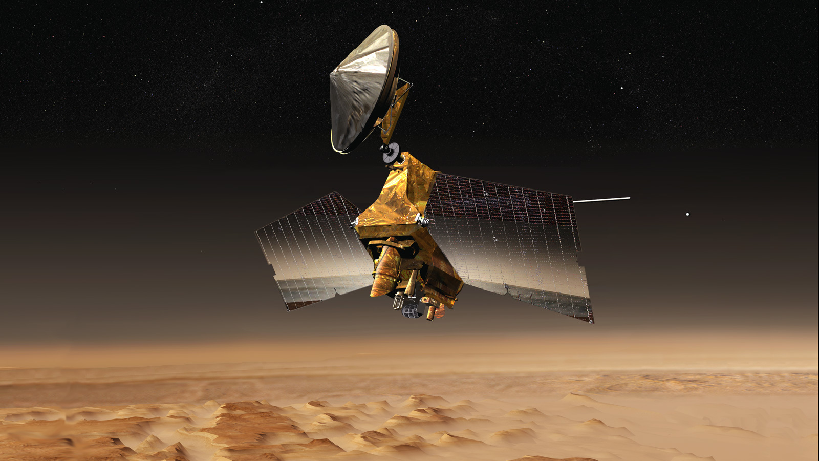 Read article: NASA's Mars Reconnaissance Orbiter Undergoes Memory Update