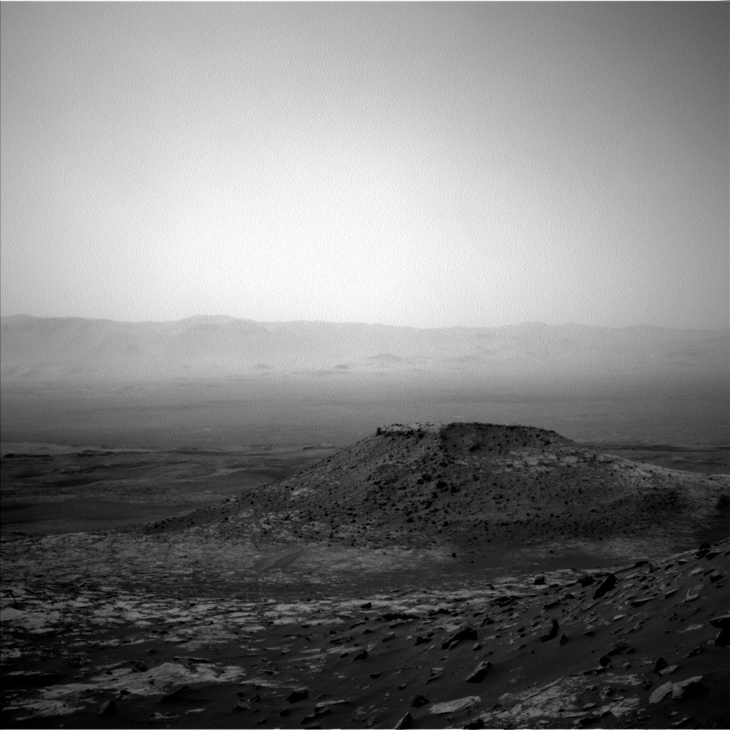 This image was taken by Left Navigation Camera onboard NASA's Mars rover Curiosity on Sol 2674.
