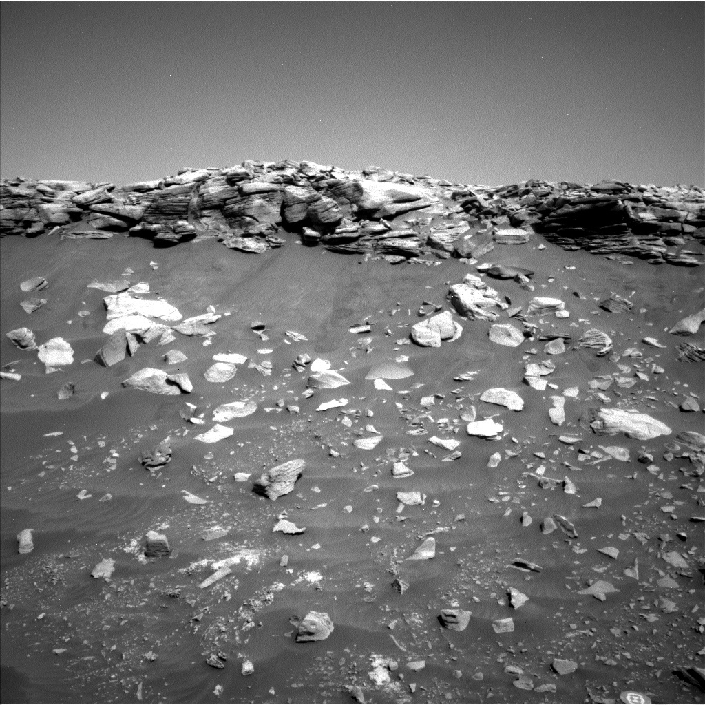 This image was taken by Left Navigation Camera onboard NASA's Mars rover Curiosity on Sol 2664.