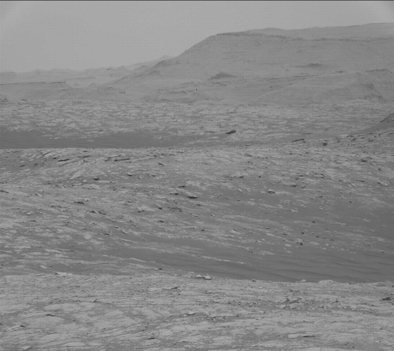 This image was taken by Mast Camera (Mastcam) onboard NASA's Mars rover Curiosity on Sol 2765.