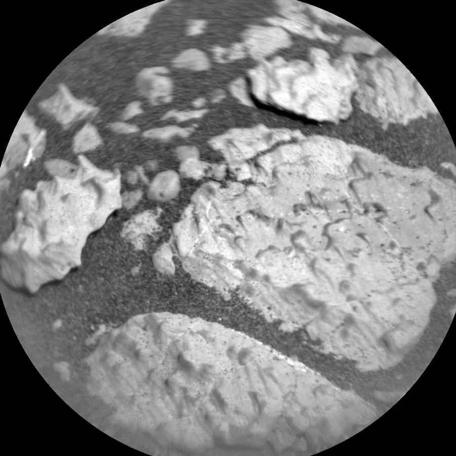 This image was taken by Chemistry & Camera (ChemCam) onboard NASA's Mars rover Curiosity on Sol 2767.