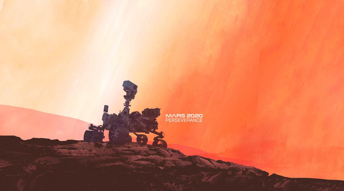 Mars'a yolculuk başladı!