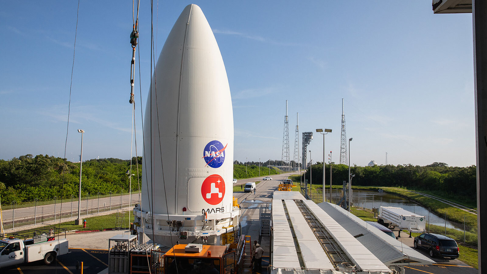 NASA's Perseverance Rover Attached to Atlas V Rocket – NASA's Mars Exploration Program - NASA Mars Exploration