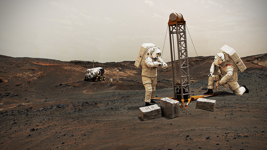 Where Should Future Astronauts Land on Mars? Follow the Water