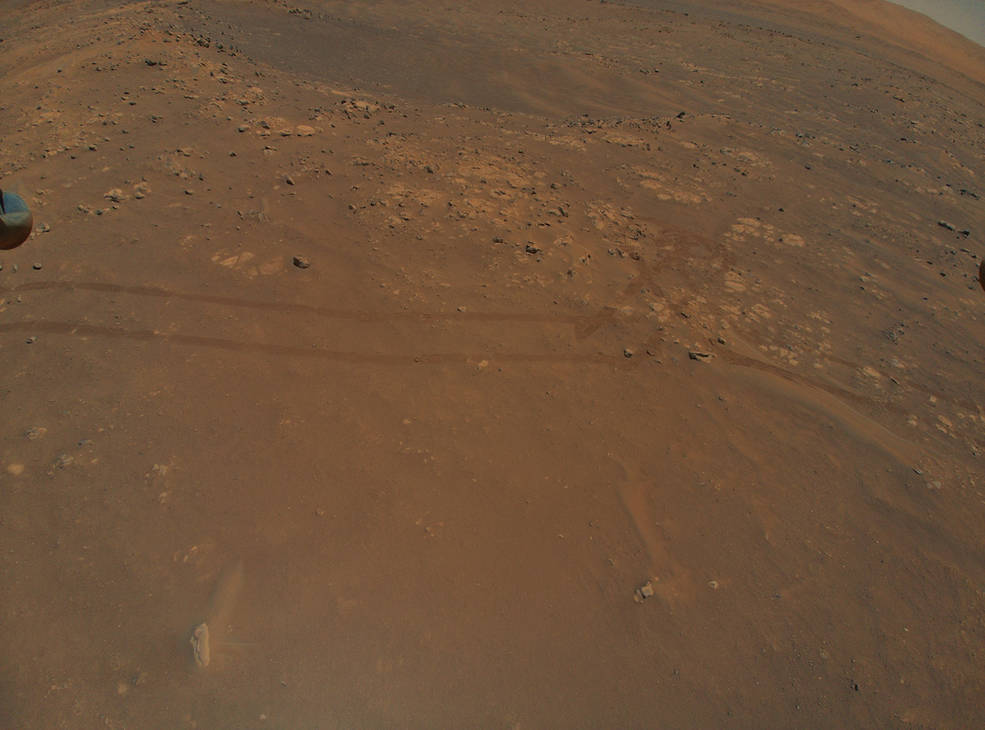 NASA's Mars Helicopter Reveals Intriguing Terrain for Rover Team