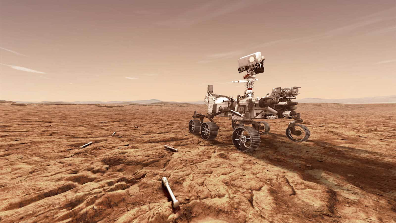 Justin Simon Shepherds Perseverance Through First Phase of Martian Rock Sampling