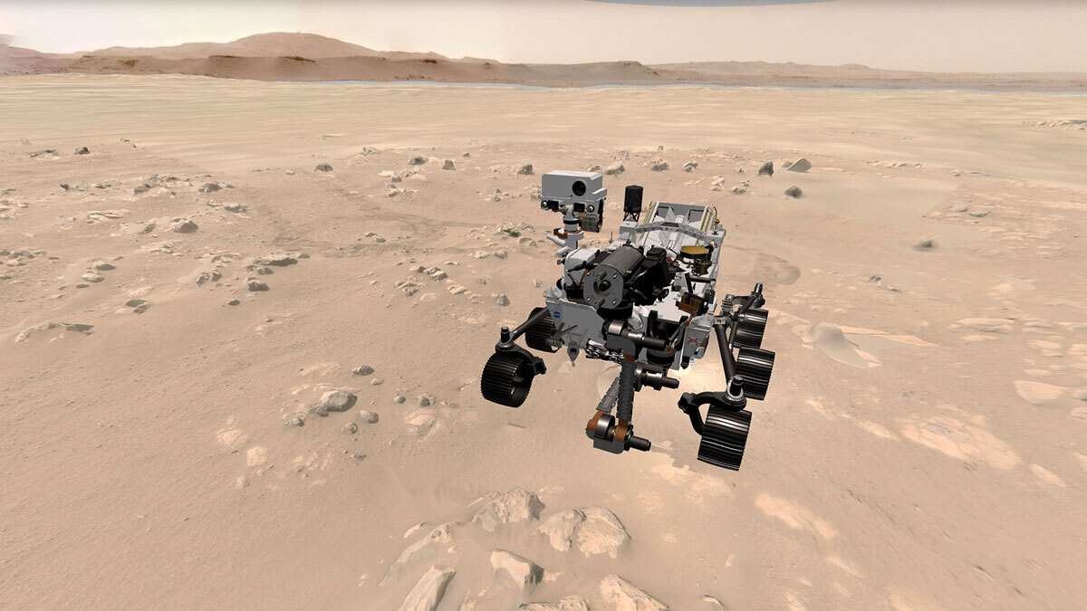 Take a 3D Spin on Mars and Track NASA's Perseverance Rover