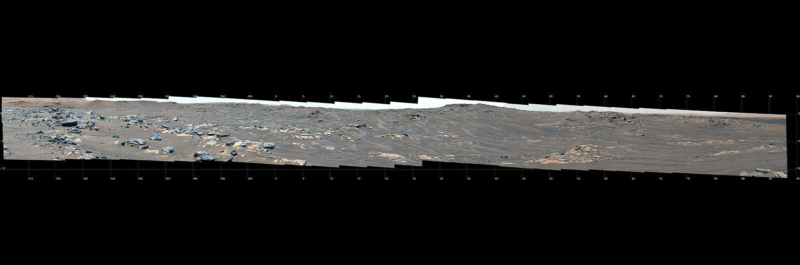 My Favorite Martian Image: the Ridges of 'South Séítah'