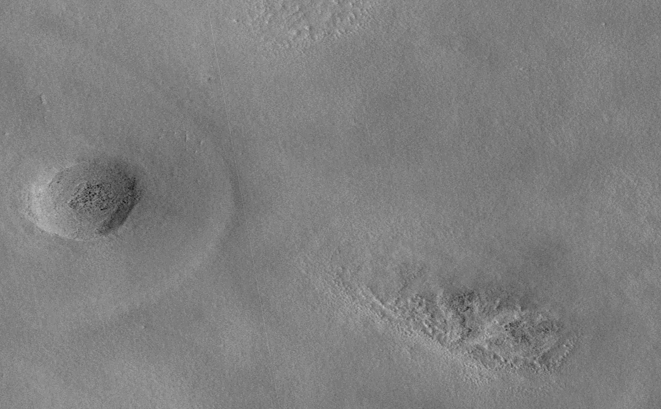 New Impact Craters on Mars Annotated  (before)
