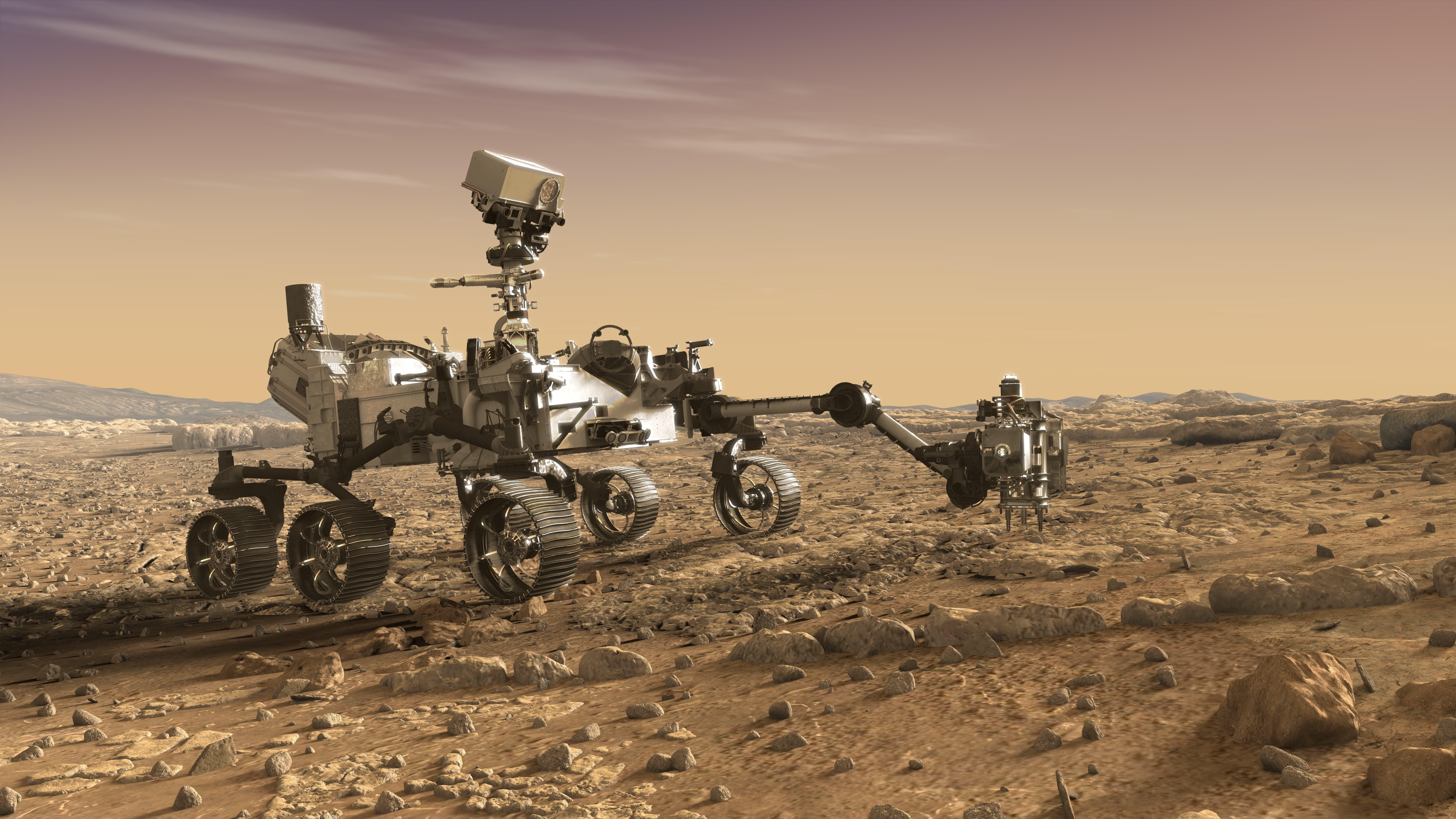 nasa mars rover - HD10000×5625