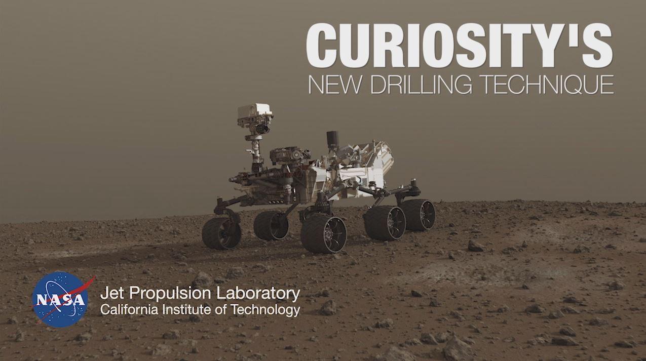 Curiosity's New Drilling Technique – NASA's Mars Exploration