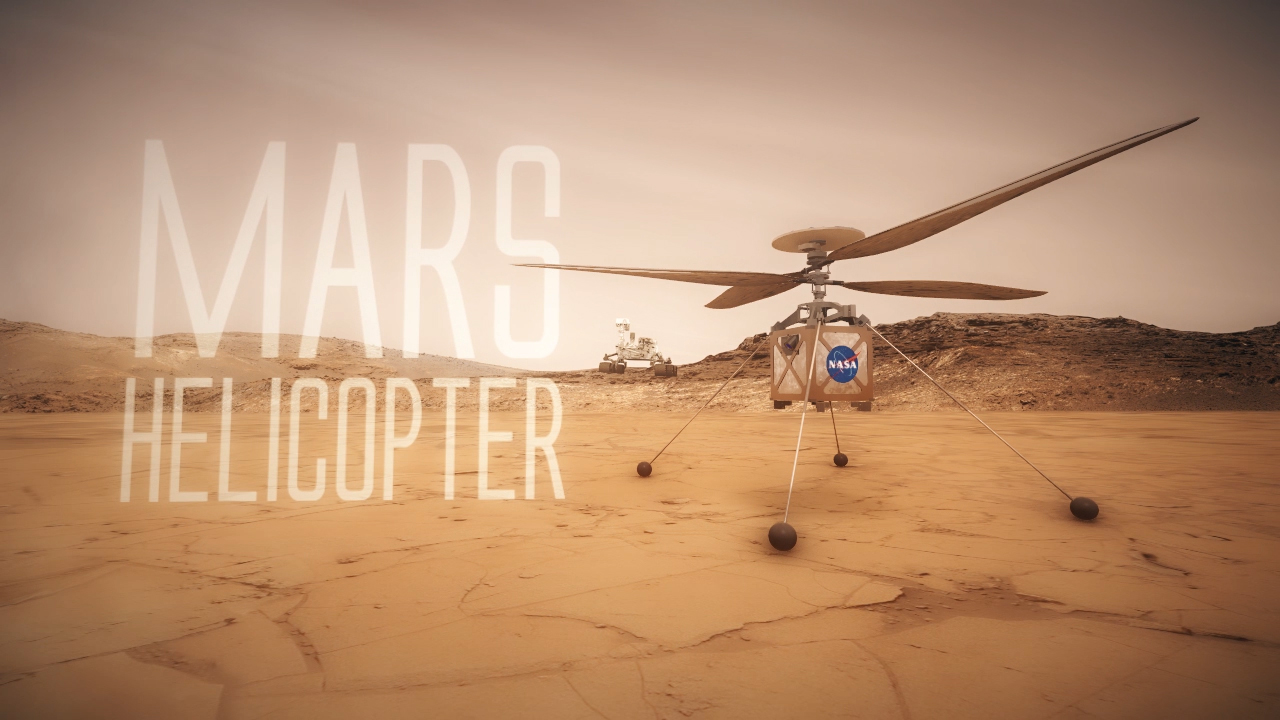 NASA Mars Helicopter Technology Demonstration – NASA's Mars