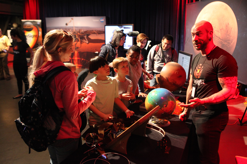 Troy Sharing Mars Science