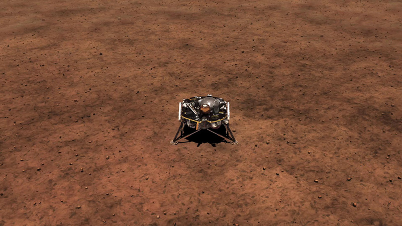 mars insight landing animation - photo #1