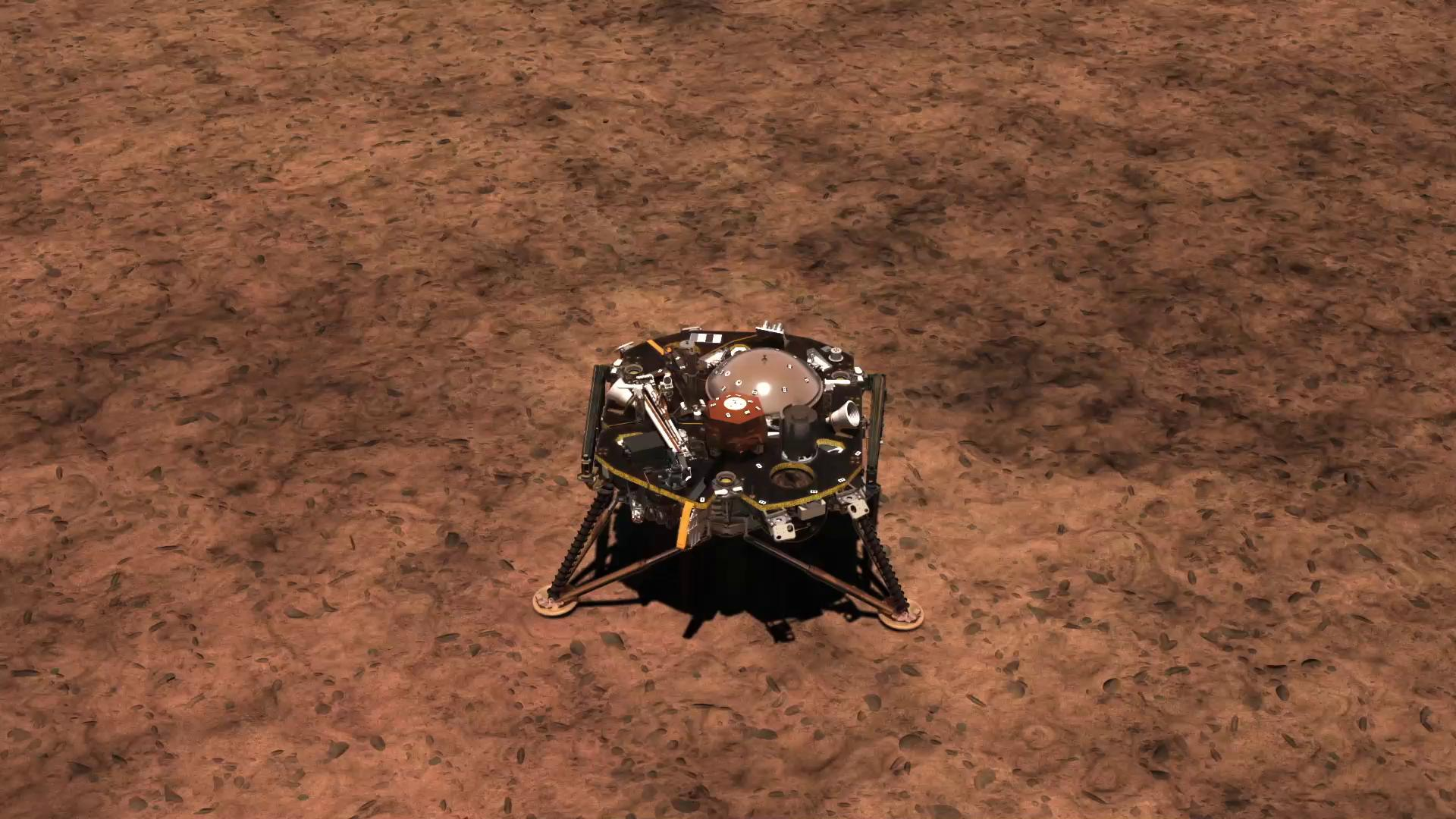 mars insight landing animation - photo #12